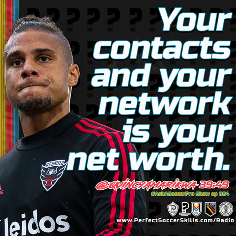 your contacts and your network is your net worth