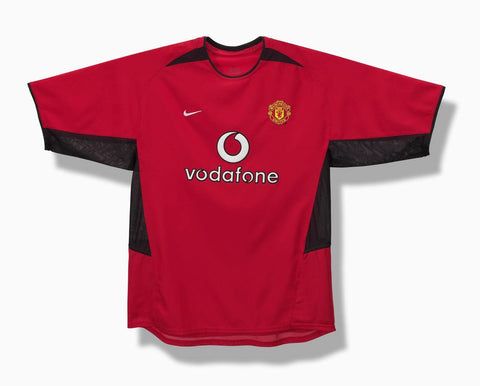 Nike's first jersey for Manchester United
