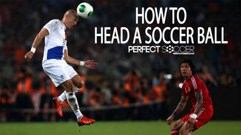 Properly Head a Soccer Ball