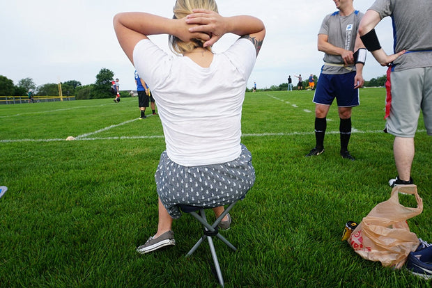 Perfect Soccer Folding Tripod Stool