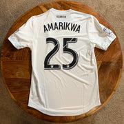 Amarikwa Game Worn DC United Signed Jersey