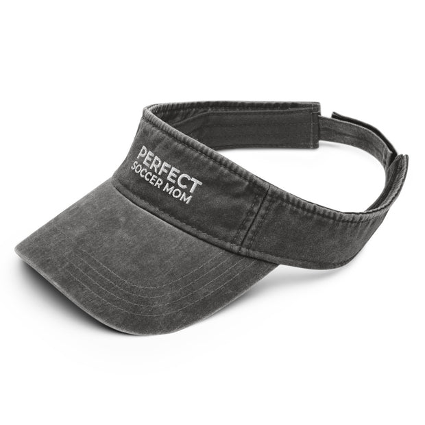 Perfect Soccer Mom | Denim visor