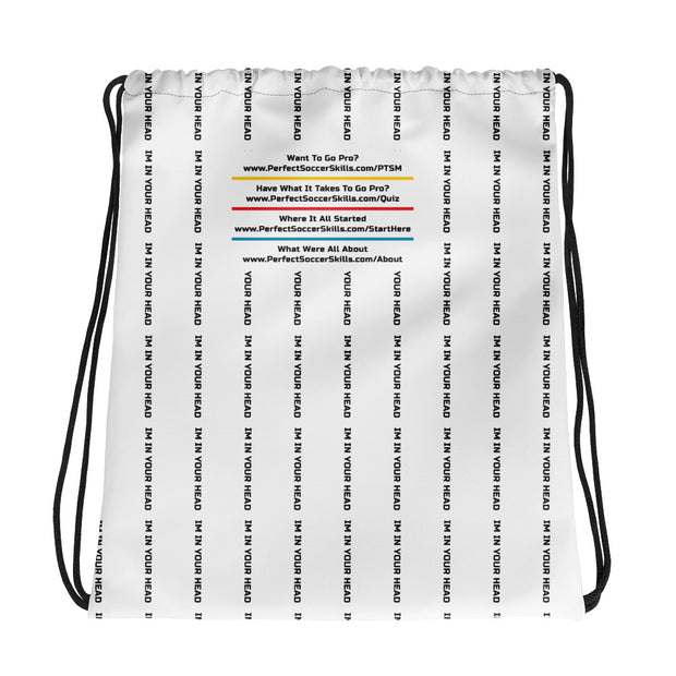 I'm In Your Head | Drawstring bag