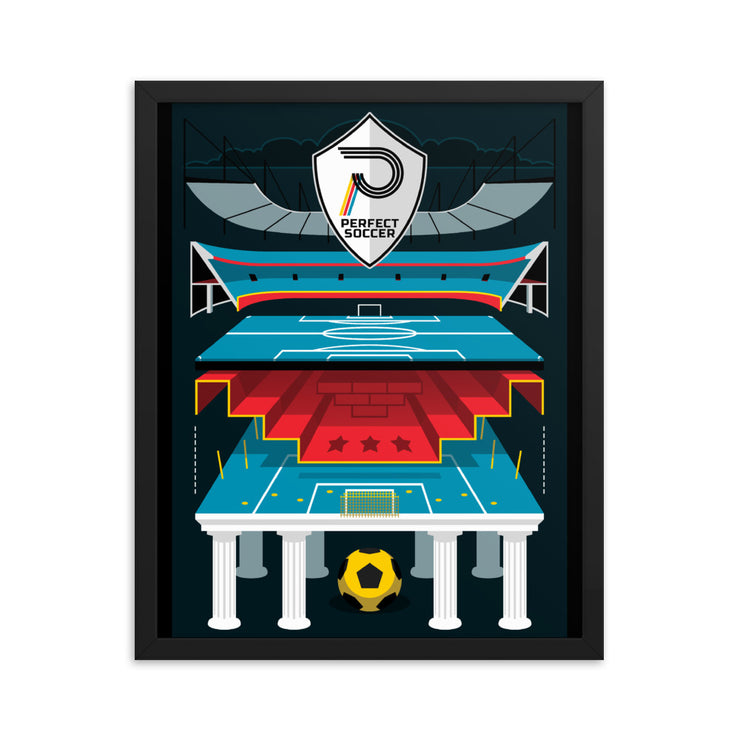 PILLARS | Framed poster