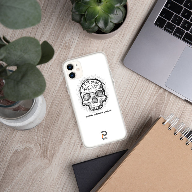 I'm In Your Head | Rent Free iPhone Case