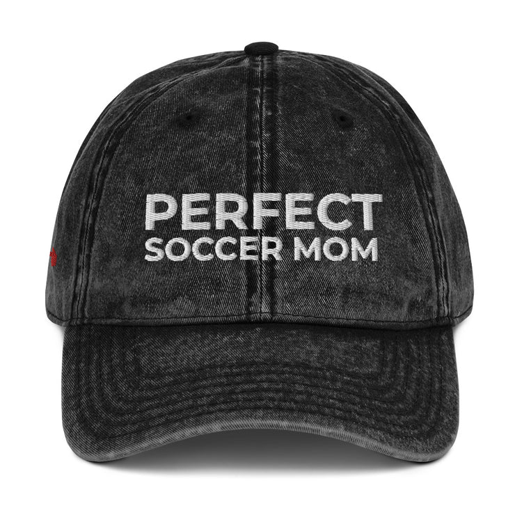 Perfect Soccer MOM | Vintage Cotton Twill Cap
