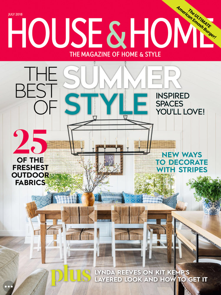 Tonic Living featured in House & Home JULY 2018