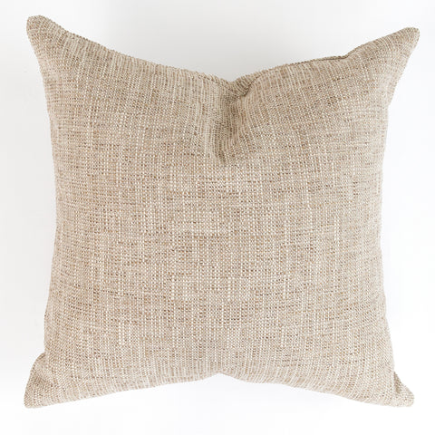 Felix, Sisal outdoor beige woven pillow from Tonic Living, former name Friendly