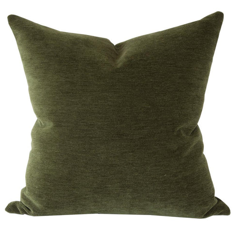 Moore Velvet, Hunter Green pillow by Tonic Living