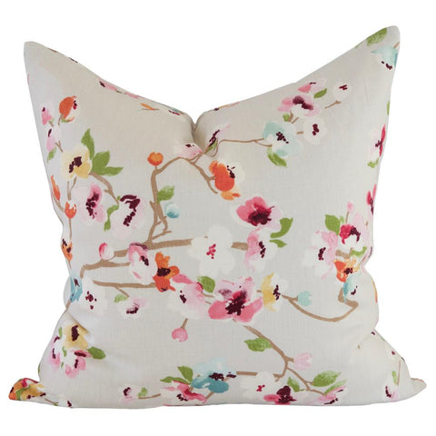 Kyoto Bloom, Spring pillow by Tonic Living