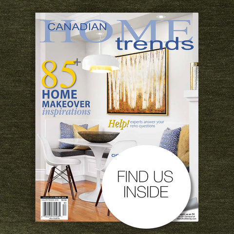 Canadian Home Trends Jan 2019 issue