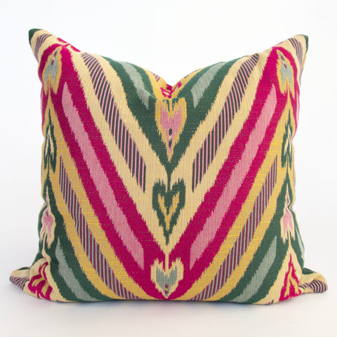 Virginia, Brightside bold colourful pillow from Tonic Living