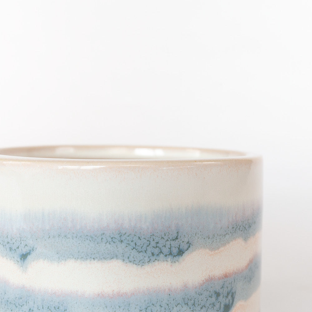 Aria glazed ceramic planter from Tonic Living
