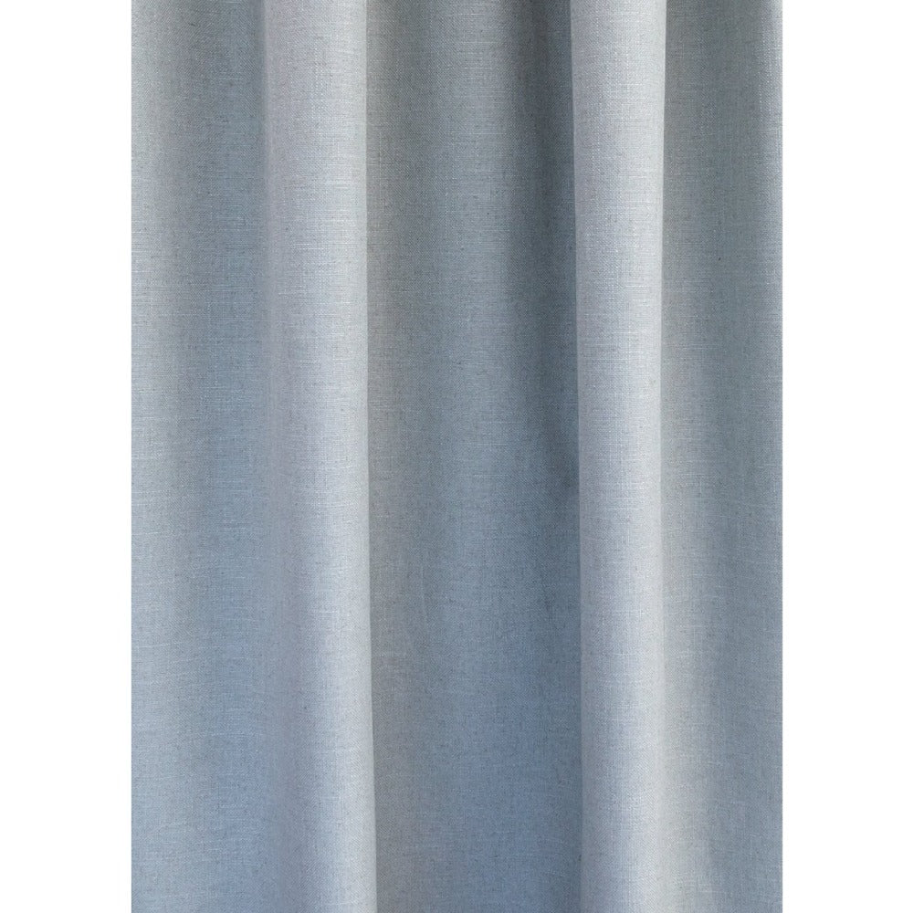 Adelaide seamist blue linen blend fabric from Tonic Living