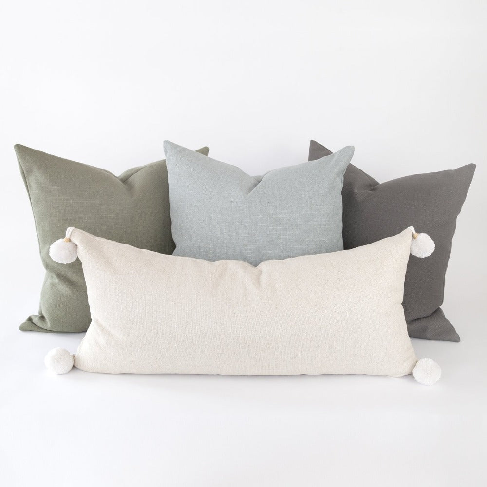 Adelaide Pillow collection linen blend pillow collection from Tonic Living
