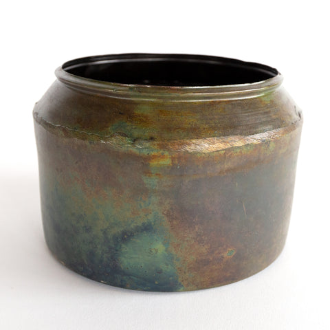 Adrien metal patina plant pot from Tonic Living