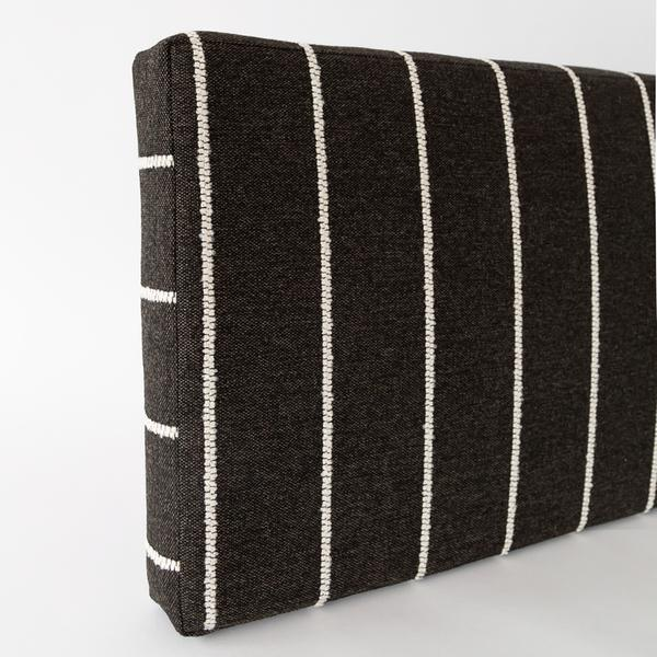 Avalon foam bench cushion, ebony from Tonic Living