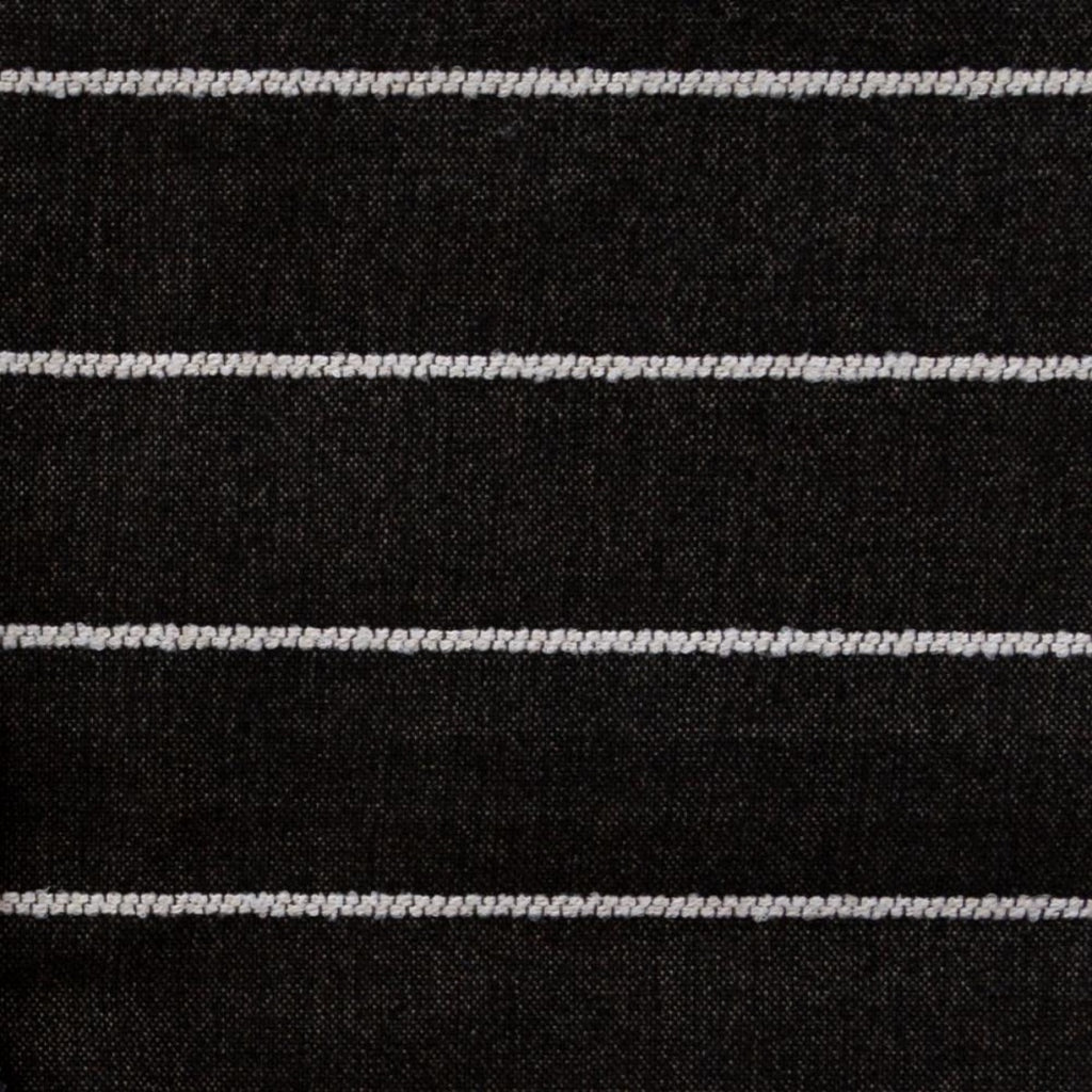 Avalon Stripe Fabric, Ebony, by Tonic Living