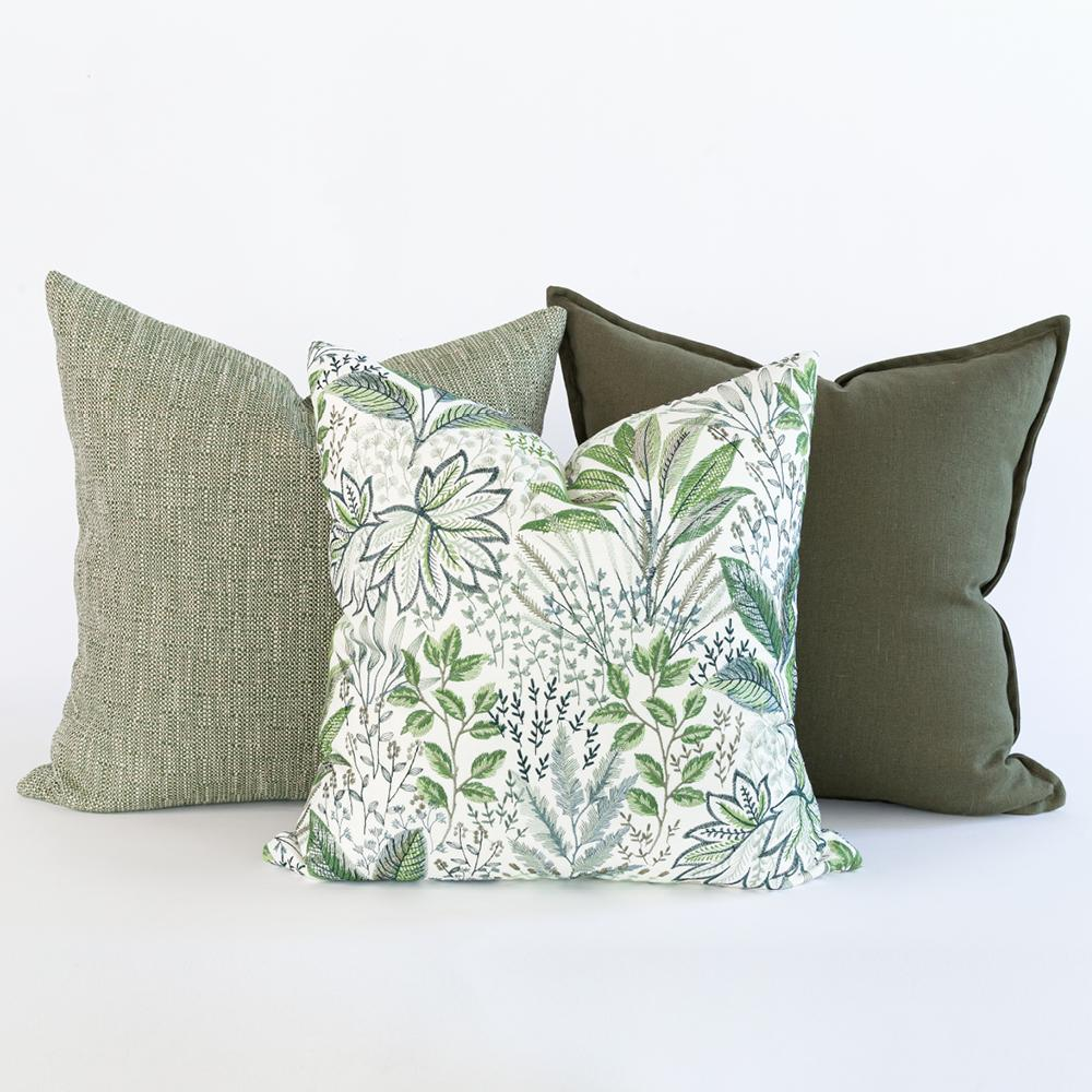 Green pillow combo from Tonic Living