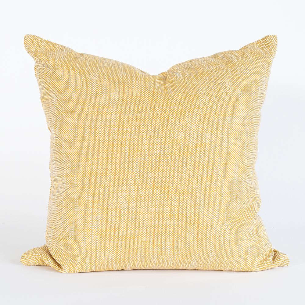 Carlsbad yellow outdoor pillow from Tonic Living