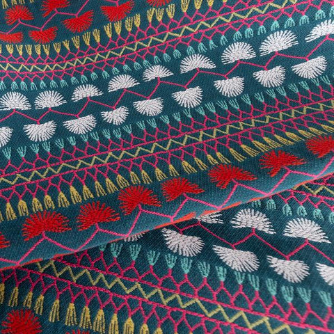 Carmen, Outdoor Market colourful boho Mexican-inspired fabric