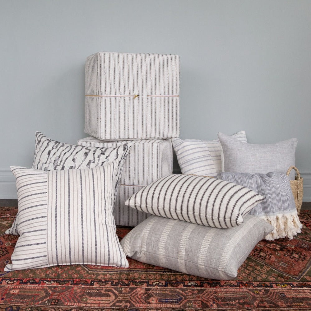 Neutral pillows from Tonic Living