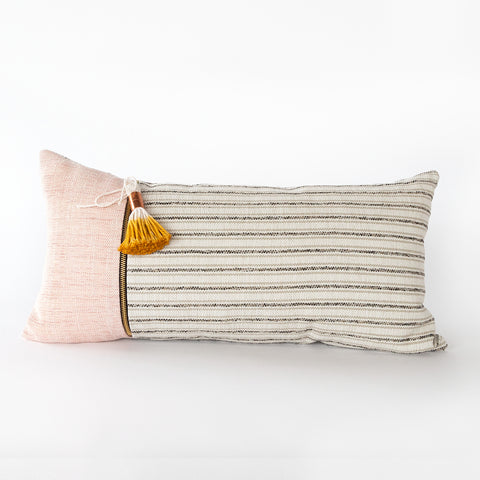 Tonic Living lumbar pillow Cassie with tassel