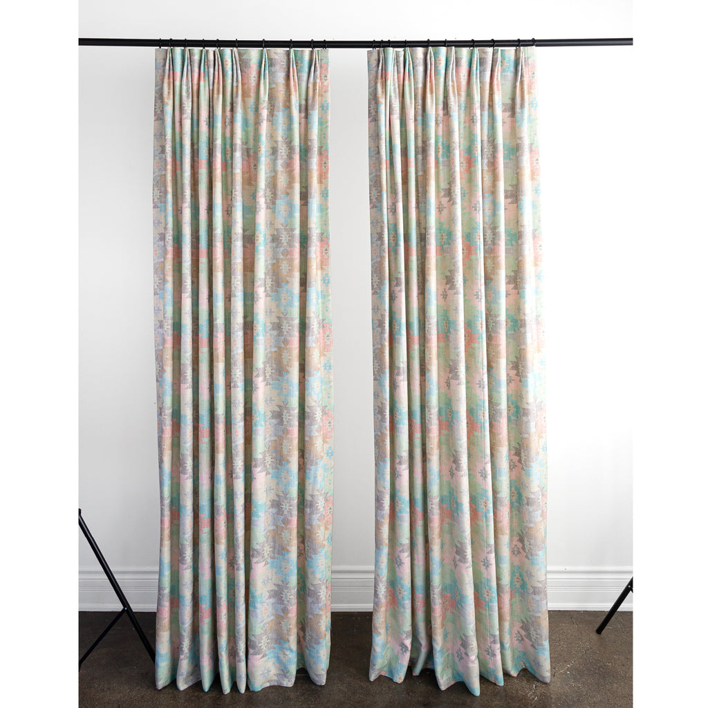 Coachella Drapes, Desert, a southwestern print drapes from Tonic Living