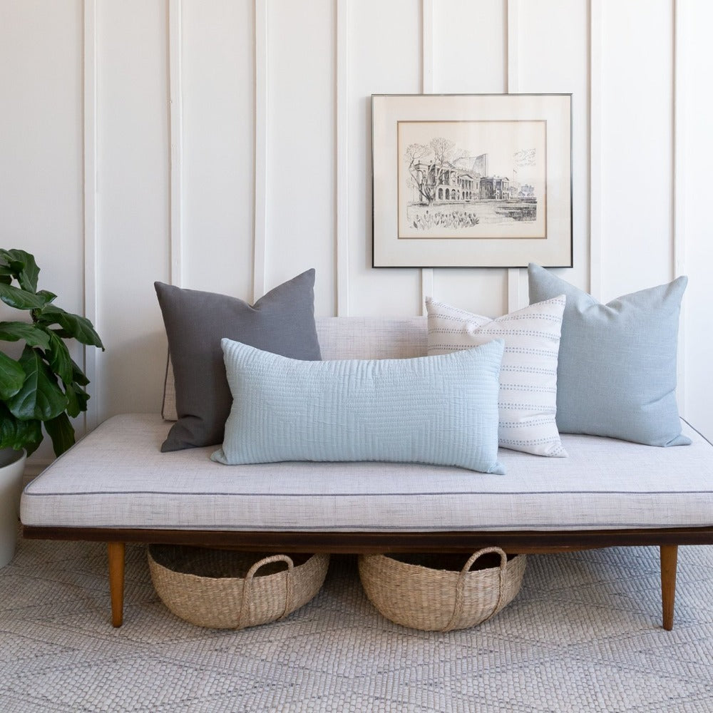 Seamist, Color of the Year, Tonic Living Pillows
