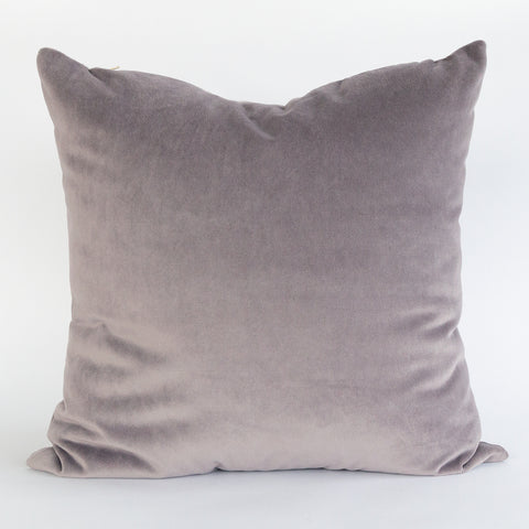 Dusted Heather, Velvet pillow by Tonic Living