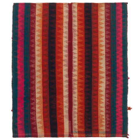Garis vintage colorful kilim rug with stripes from Tonic Living