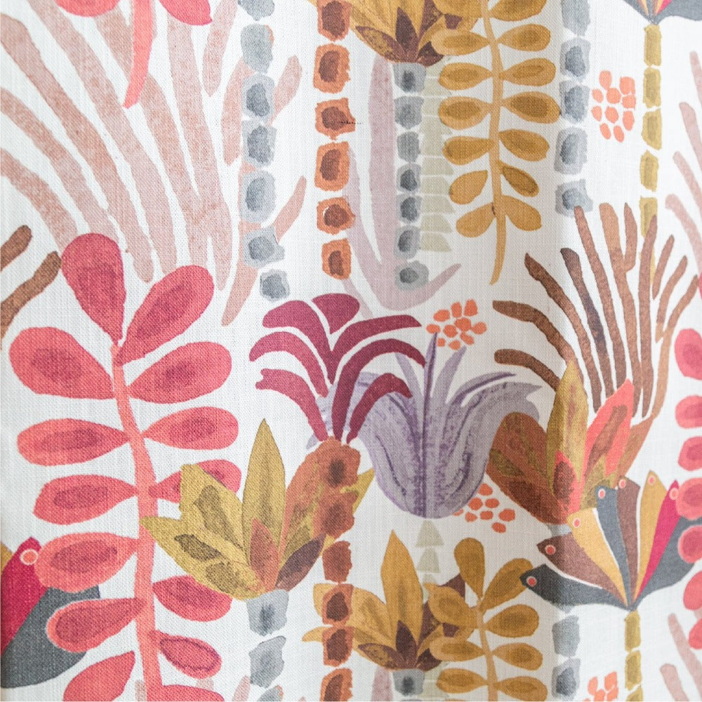 Huntington Fabric, Vintage, a Justina Blakeney muted floral print at Tonic Living