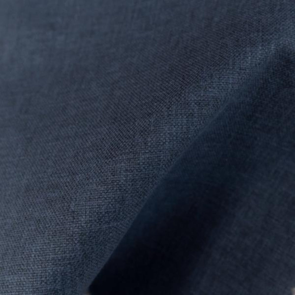 Jameson navy blue indigo fabric from Tonic Living