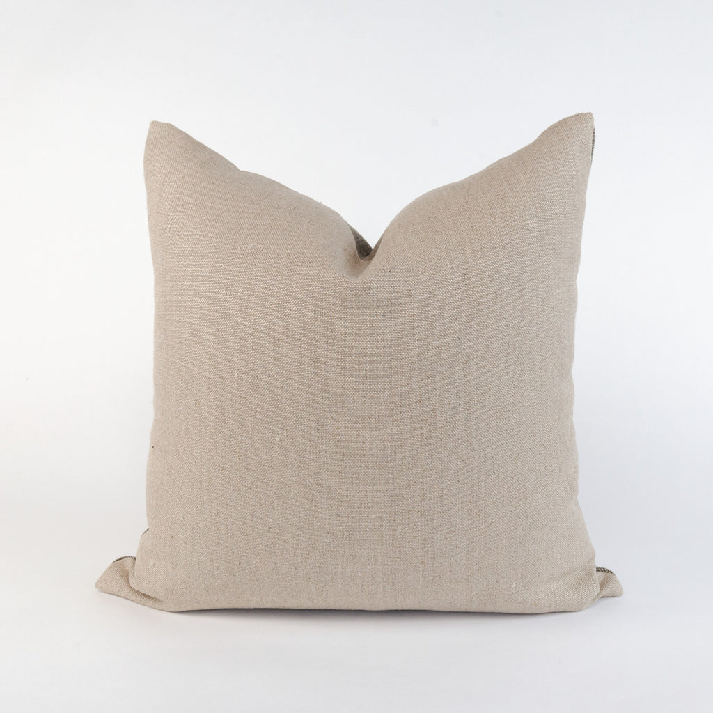 Kenmare Linen Pillow, a hearty two tone linen pillow from Tonic Living