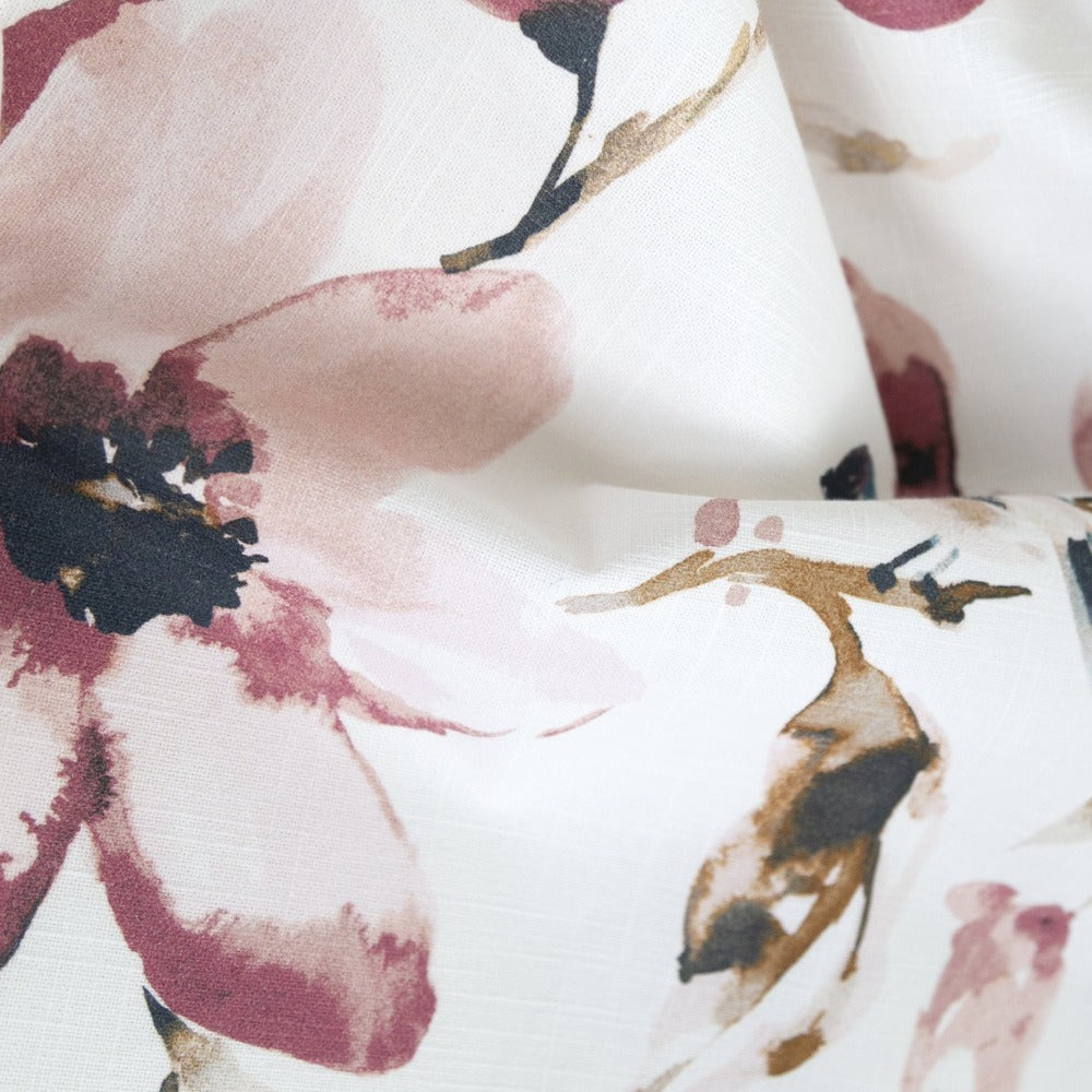 Layla muted watercolor floral fabric from Tonic Living