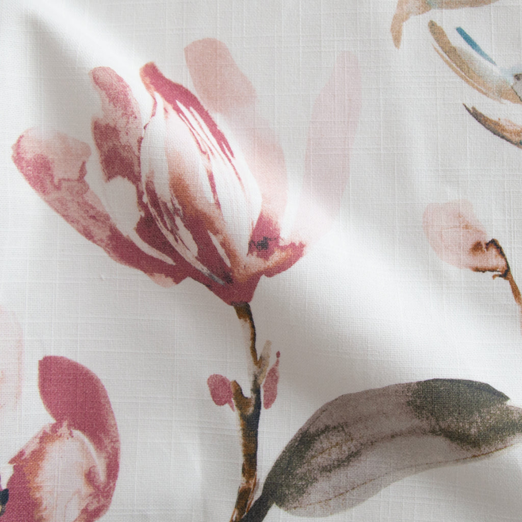 Layla muted watercolor floral pillow from Tonic Living