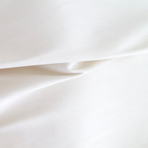 Lucca Fabric, Oyster, a silk blend drapery fabric in off white from Tonic Living
