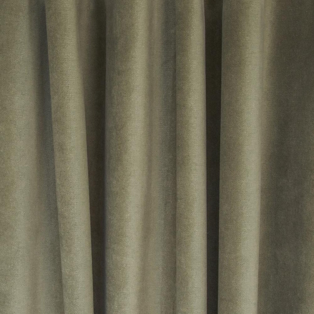 Mason Velvet Bay Leaf, a green gray soft velvet from Tonic Living