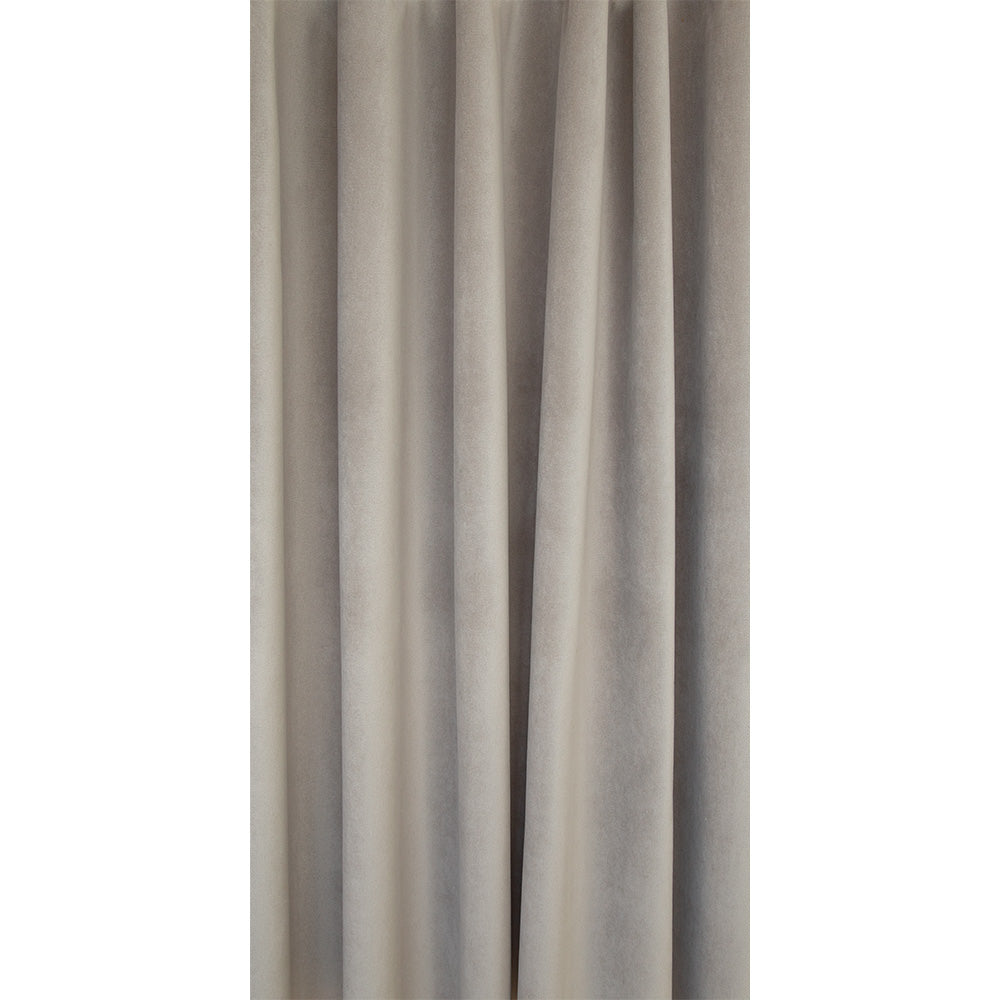 Mason Velvet Mushroom, a warm gray velvet from Tonic Living