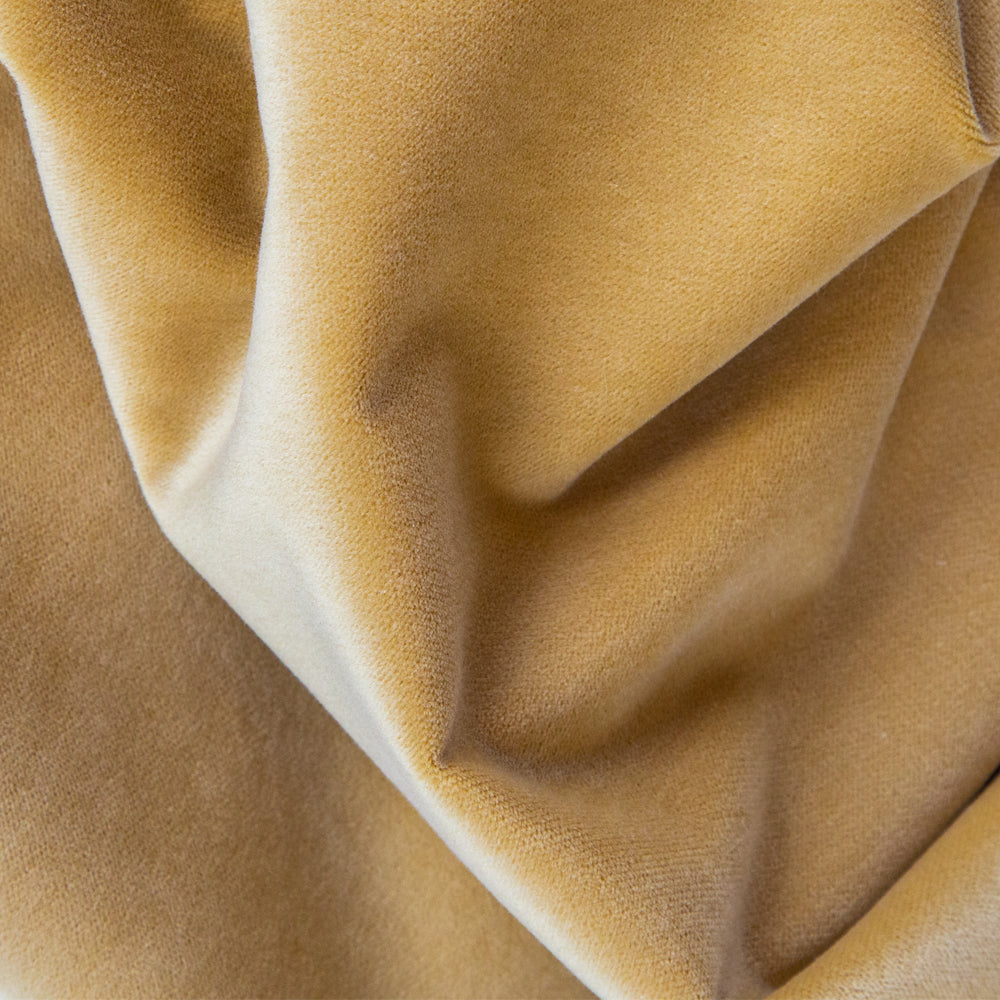 Mason Velvet Golden Hour, an antique yellow gold velvet from Tonic Living