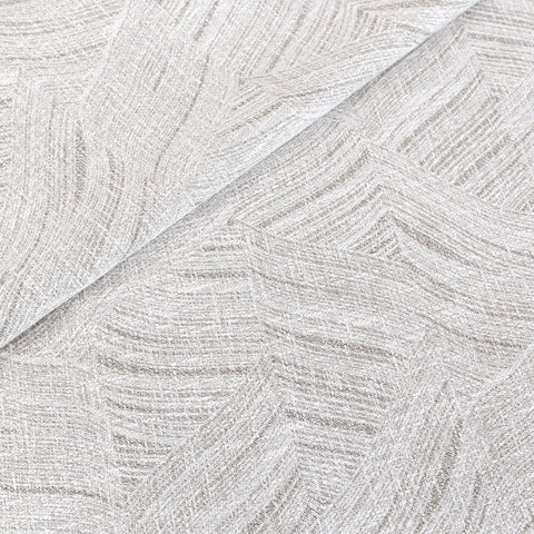 Muro fabric, Frost, a gray Ellen Degeneres fabric from Tonic Living