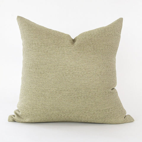 Neigel green outdoor tweed pillow from Tonic Living