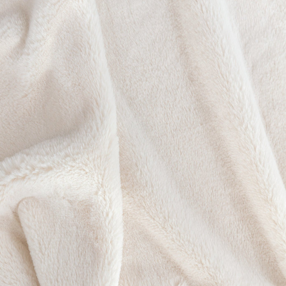 Oslo faux creamy white fur from Tonic Living