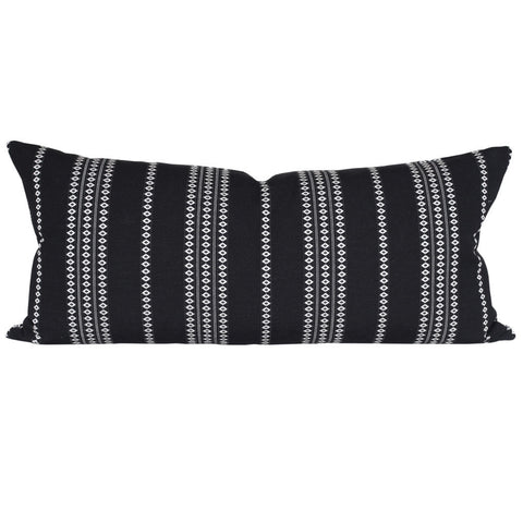 Boho Stripe, Black (Extra Long) - tonic-living-usd
