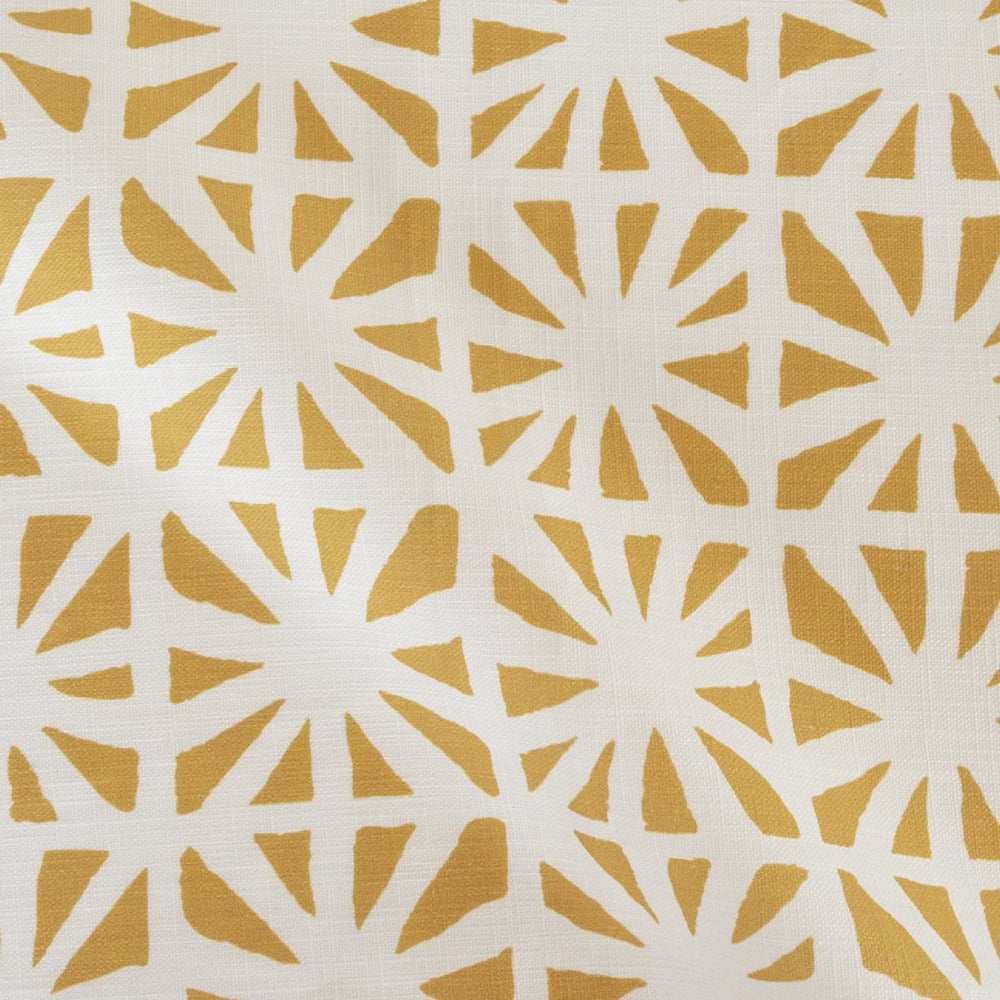 Planetarium Fabric, Goldenrod, a Justina Blakeney mustard yellow print at Tonic Living
