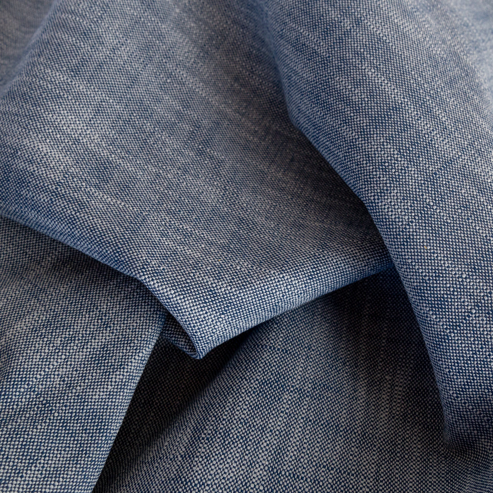 Ryder Indoor outdoor Indigo blue fabric from Tonic Living