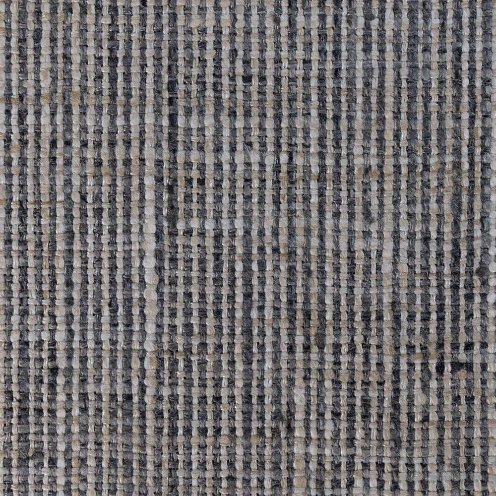 Stanhope, a dark gray and natural textured fabric from Tonic Living