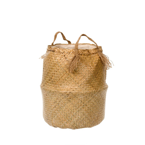 Tall Belly Baskets, Natural Wash - [Product_type] - Tonic Living