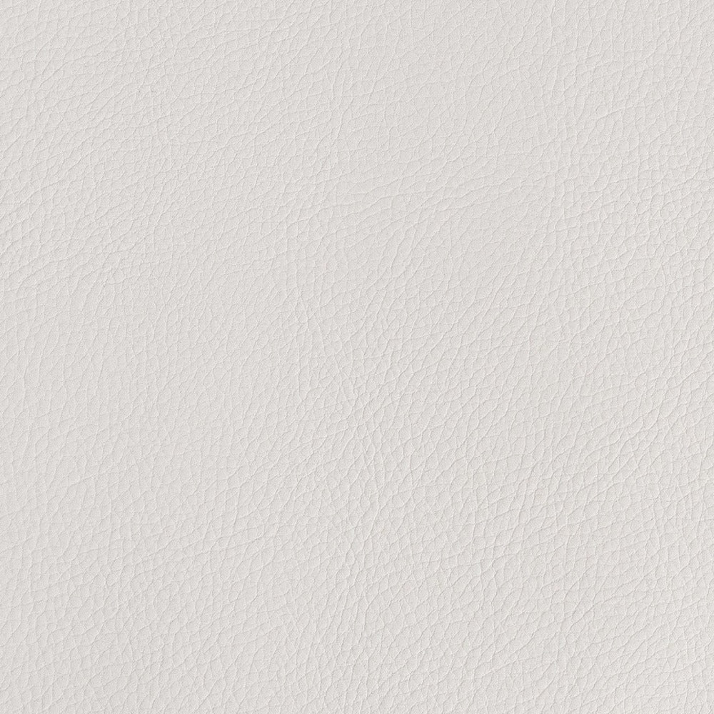 Tate Inside out Faux Leather, Bone, a creamy ivory vegan leather fabric from Tonic Living