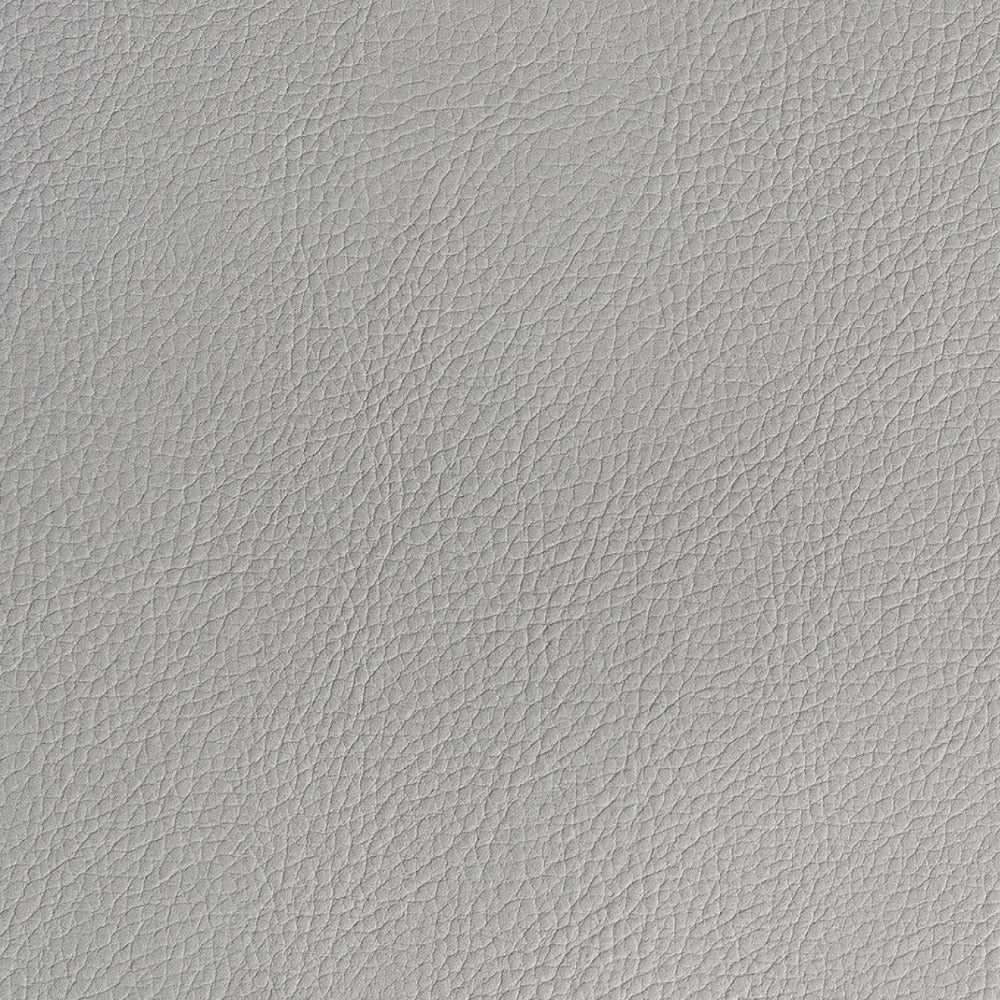 Tate Inside out Faux Leather, neutral gray vegan leather fabric from Tonic Living